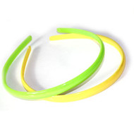 (HBN4439) PLASTIC HEAD BAND 2PCS/CD