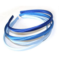 (HBBL9277) SATIN HEAD BAND 4PCS/CD