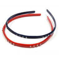 PLASTIC HEAD BAND 2PCS/CD [22.28]