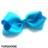 CLIP BOW TURQUOISE