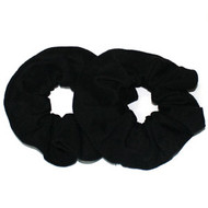 (SWK9286) COTTON SCRUNCHIE 2PCS/CD