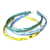 FABRIC HEAD BAND 3PCS/CD