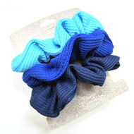 (QSBL2629) KNIT SCRUNCHIE 3PCS
