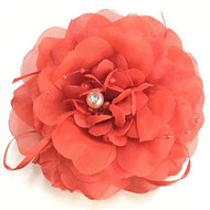 FLOWER CLIP W / RUBBER BAND