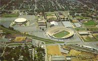 Memphis Memorial Stadium, Mid-South Coliseum & Blues Stadium (P77852)