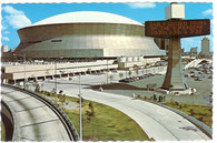 Louisiana Superdome (GLR-C-494 deckle)