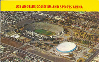 Los Angeles Memorial Coliseum & Los Angeles Memorial Sports Arena (P33680 yellow)