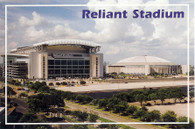 Reliant Stadium & Reliant Astrodome (No# Jandee Cards-continental)
