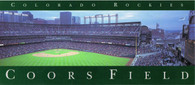 Coors Field (1995 Rockies Issue 4x9)