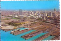 Cleveland Municipal Stadium (#544, 93829-B (deckle))