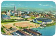 Cleveland Municipal Stadium (K-9, 1C-P1631)