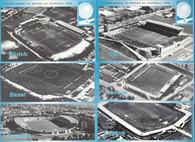 6 Different Switzerland 1954 World Cup Stadiums (GRB-552 thru GRB-557)