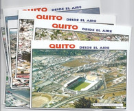 9 Ecuador Stadium Postcards (GRB-1469 thru GRB-1477)