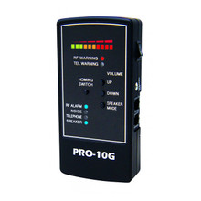 Spy Hawk PRO-10G #1 GPS Bug Sweep, Portable Wire Tap, 3G/4G Cell Phone and Camera Finder