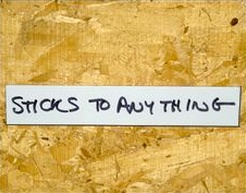 Self-Adhesive Write and Wipe Shelf Labels