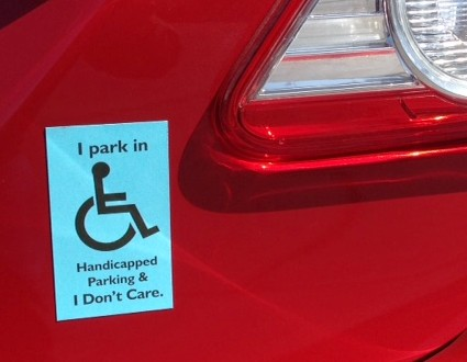 Handicapped Parking Revenge Magnets