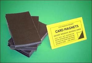 Self adhesive business card magnets magically magnetic self adhesive magnetic business cards colourmoves