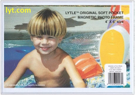 8x10 White Magnetic Photo Frame