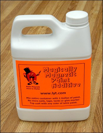 Magically Magnetic Paint Gallon