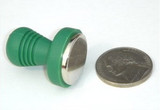 Safety-cap Rare Earth Magnet, 1/4 inch thick