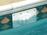 Screw Tight® Swimming Pool Skimmer Cover