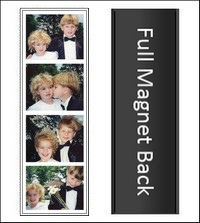 Photo Booth Magnetic strip frame