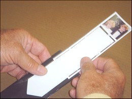 Magnetic Photo Booth Strip Frame Insertion Tool