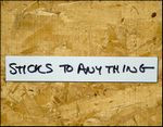 """12"""" x 24"""" - 5 pack of Write on Wipe off Dry Erase Self-Adhesive shelf labels"""