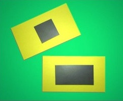 Self Adhesive Business Card Magnets - Economy size, 1x2