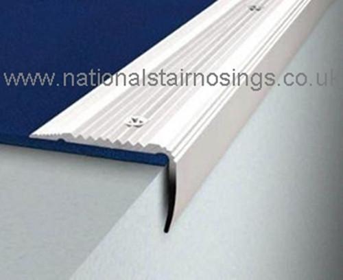 35x30mm Aluminium Stair Nosings For Carpet Vinyl