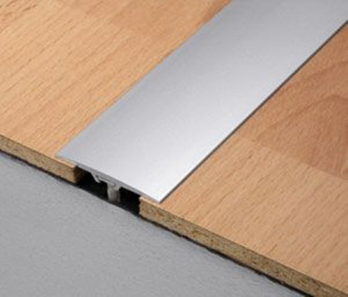 Aluminium Flat Door Bar Threshold Strips For Same Level Floors National Stair Nosings Floor