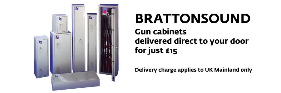 Brattonsound Gun Cabinets and Safes