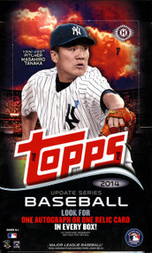 2014 Topps Update Series Baseball Hobby Box