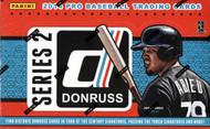 2014 Panini Donruss Series 2 Baseball Hobby Box