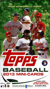 2013 Topps Mini Baseball Box