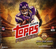 2013 Topps Football Jumbo HTA Box