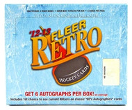 2012/13 Upper Deck Fleer Retro Hockey Hobby Box