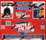 2012 Panini Triple Play Baseball Box