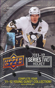 2011/12 Upper Deck Series 2 Hockey Hobby Box