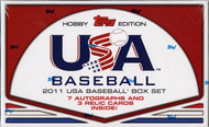 2011 Topps USA Baseball Team Set Hobby Box