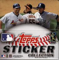 2011 Topps Sticker Collection Baseball Hobby Box