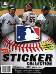 2011 Topps Sticker Collection Baseball Album