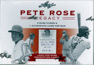 2011 Leaf Pete Rose Legacy Hobby Box