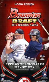 2014 Bowman Draft Picks & Prospects Baseball Hobby Box