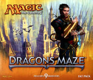 Magic the Gathering Dragon's Maze Fat Pack Box