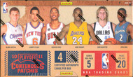 2010/11 Panini Playoff Contenders Patches Basketball Hobby 12 Box Case