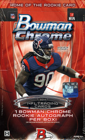 2014 Bowman Chrome Football Hobby 12 Box Case