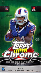2014 Topps Chrome Mini Football Box