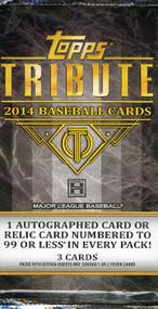 2014 Topps Tribute Baseball Hobby Pack