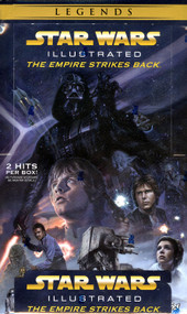 2015 Topps Star Wars Illustrated: The Empire Strikes Back Box